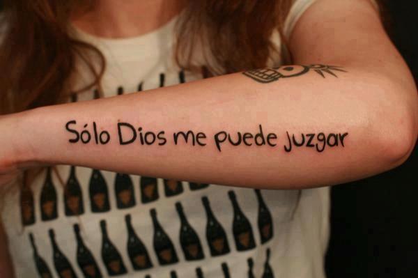 Solo Dios me puede juzgar